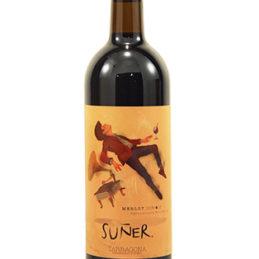 vi negre ecològic suñer merlot, d:o Tarragona